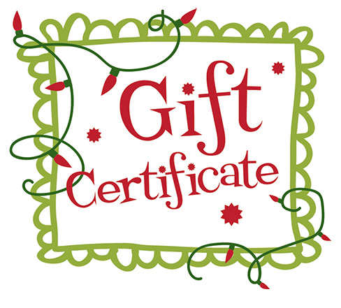 Purchase Your Specked Dog Pottery Gift Certificate today!