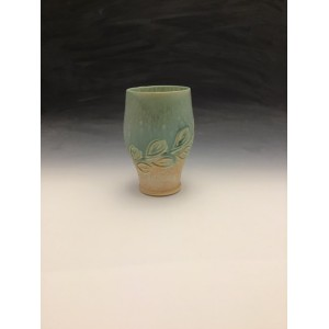 Tall Tumbler in Turquoise