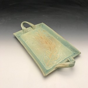 Rectangle Tray in Turquoise