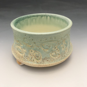 Small Dog Bowl in Turquoise