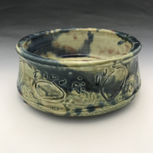 Large Dog Bowl in Green