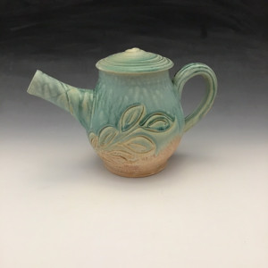 Teapot in Turquoise 16oz.